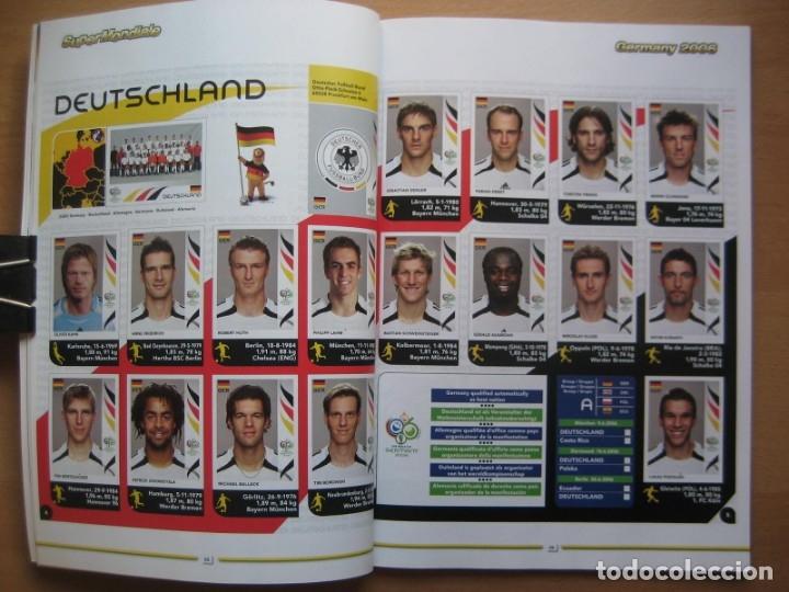 Álbum de fútbol completo: 2006 COPA DEL MUNDO - LIBRO - ALBUM MUNDIAL DE FUTBOL ALEMANIA 2006 - PANINI - Foto 8 - 182833536