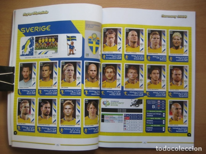 Álbum de fútbol completo: 2006 COPA DEL MUNDO - LIBRO - ALBUM MUNDIAL DE FUTBOL ALEMANIA 2006 - PANINI - Foto 9 - 182833536