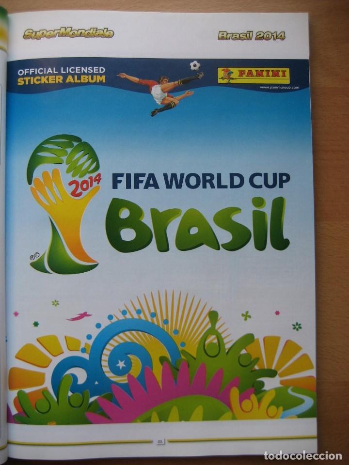 2014 COPA DEL MUNDO - LIBRO - ALBUM MUNDIAL DE FUTBOL BRASIL 2014 - PANINI (Coleccionismo Deportivo - Álbumes y Cromos de Deportes - Álbumes de Fútbol Completos)