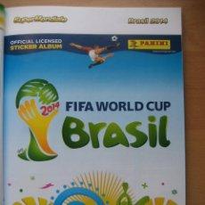 Álbum de fútbol completo: 2014 COPA DEL MUNDO - LIBRO - ALBUM MUNDIAL DE FUTBOL BRASIL 2014 - PANINI. Lote 182834256