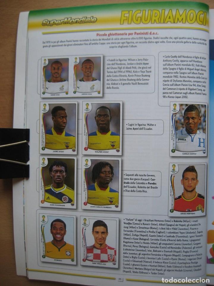 Álbum de fútbol completo: 2014 COPA DEL MUNDO - LIBRO - ALBUM MUNDIAL DE FUTBOL BRASIL 2014 - PANINI - Foto 6 - 182834256