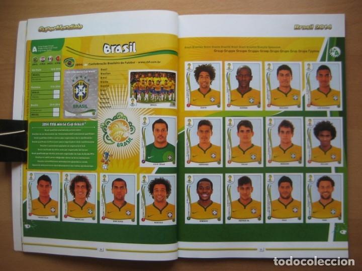 Álbum de fútbol completo: 2014 COPA DEL MUNDO - LIBRO - ALBUM MUNDIAL DE FUTBOL BRASIL 2014 - PANINI - Foto 7 - 182834256