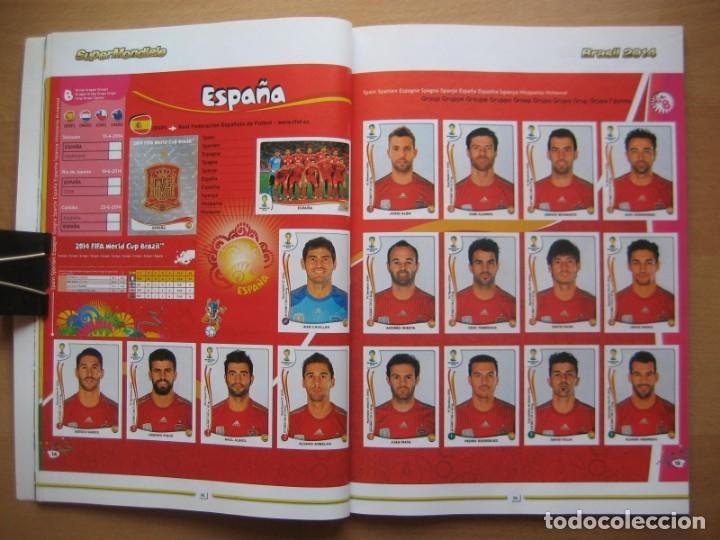 Álbum de fútbol completo: 2014 COPA DEL MUNDO - LIBRO - ALBUM MUNDIAL DE FUTBOL BRASIL 2014 - PANINI - Foto 8 - 182834256