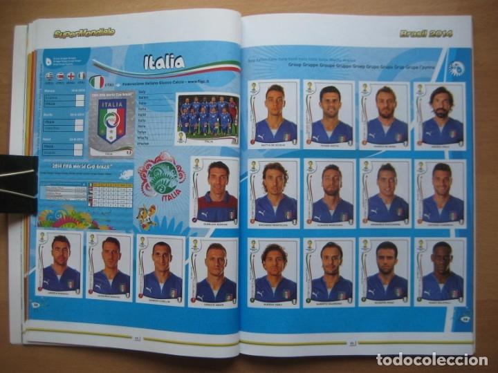 Álbum de fútbol completo: 2014 COPA DEL MUNDO - LIBRO - ALBUM MUNDIAL DE FUTBOL BRASIL 2014 - PANINI - Foto 10 - 182834256