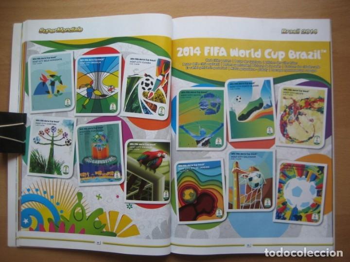 Álbum de fútbol completo: 2014 COPA DEL MUNDO - LIBRO - ALBUM MUNDIAL DE FUTBOL BRASIL 2014 - PANINI - Foto 11 - 182834256