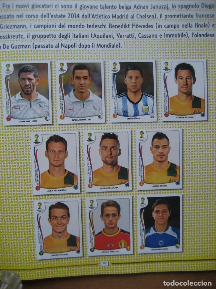 Álbum de fútbol completo: 2014 COPA DEL MUNDO - LIBRO - ALBUM MUNDIAL DE FUTBOL BRASIL 2014 - PANINI - Foto 12 - 182834256