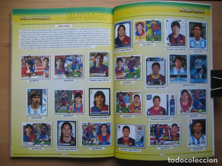 Álbum de fútbol completo: 2014 COPA DEL MUNDO - LIBRO - ALBUM MUNDIAL DE FUTBOL BRASIL 2014 - PANINI - Foto 23 - 182834256