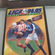 Álbum de fútbol completo: FACSIMIL CAMPEONATO NACIONAL DE LIGA 1994 1995 94 95 SALVAT ESTE PANINI. Lote 182850006
