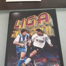 Álbum de fútbol completo: FACSIMIL CAMPEONATO NACIONAL DE LIGA 2000 2001 00 01 SALVAT ESTE PANINI. Lote 182854598