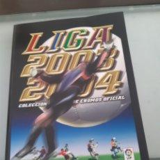 Álbum de fútbol completo: FACSIMIL CAMPEONATO NACIONAL DE LIGA 2003 2004 03 04 SALVAT ESTE PANINI. Lote 182854756
