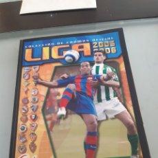 Álbum de fútbol completo: FACSIMIL CAMPEONATO NACIONAL DE LIGA 2005 2006 05 06 SALVAT ESTE PANINI. Lote 182854961