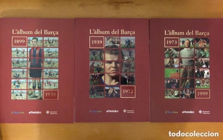 Álbum de fútbol completo: ÁLBUM CROMOS BARÇA 1899-1999, 1er CENTENARIO ** - Foto 7 - 182896400