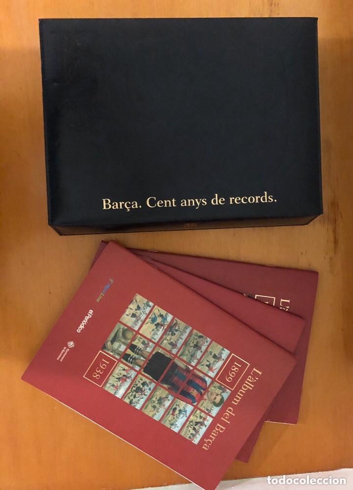 ÁLBUM CROMOS BARÇA 1899-1999, 1ER CENTENARIO ** (Coleccionismo Deportivo - Álbumes y Cromos de Deportes - Álbumes de Fútbol Completos)