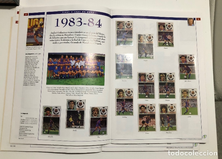 Álbum de fútbol completo: ÁLBUM CROMOS BARÇA 1899-1999, 1er CENTENARIO ** - Foto 3 - 182896400