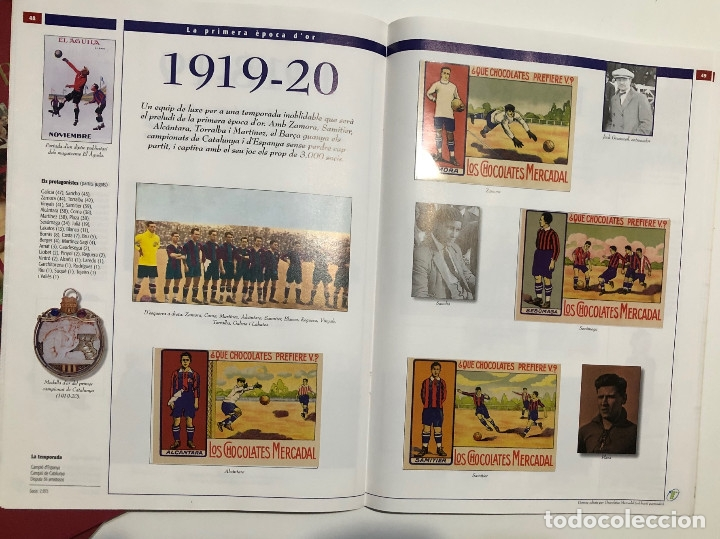 Álbum de fútbol completo: ÁLBUM CROMOS BARÇA 1899-1999, 1er CENTENARIO ** - Foto 5 - 182896400