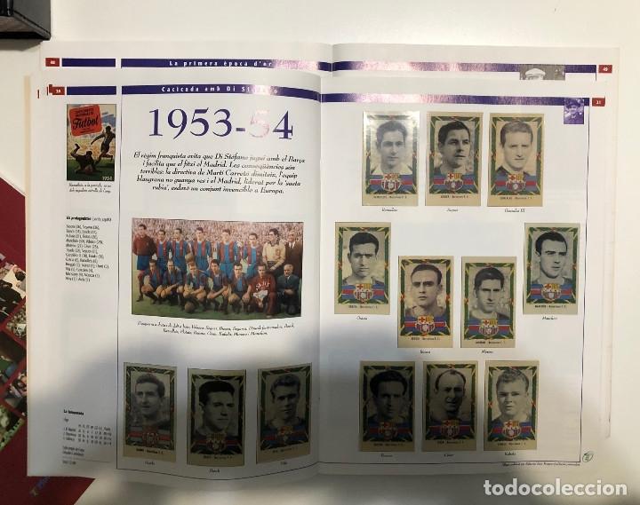 Álbum de fútbol completo: ÁLBUM CROMOS BARÇA 1899-1999, 1er CENTENARIO ** - Foto 6 - 182896400