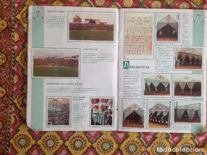 Álbum de fútbol completo: ALBUM BETIS COMPLETO FIRMADO POR JUGADORES - Foto 3 - 182945462