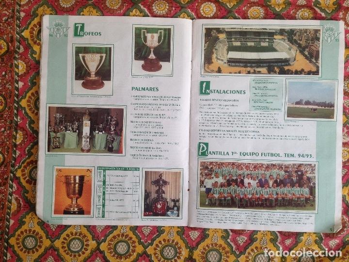 Álbum de fútbol completo: ALBUM BETIS COMPLETO FIRMADO POR JUGADORES - Foto 4 - 182945462