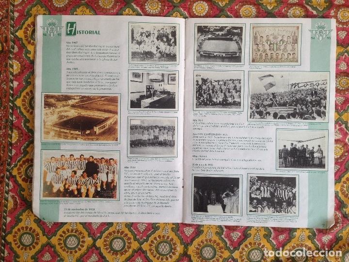Álbum de fútbol completo: ALBUM BETIS COMPLETO FIRMADO POR JUGADORES - Foto 5 - 182945462