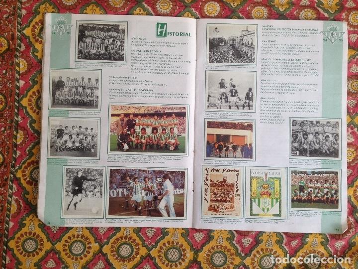 Álbum de fútbol completo: ALBUM BETIS COMPLETO FIRMADO POR JUGADORES - Foto 6 - 182945462