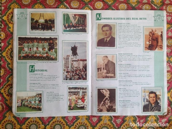 Álbum de fútbol completo: ALBUM BETIS COMPLETO FIRMADO POR JUGADORES - Foto 7 - 182945462