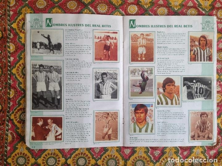 Álbum de fútbol completo: ALBUM BETIS COMPLETO FIRMADO POR JUGADORES - Foto 8 - 182945462