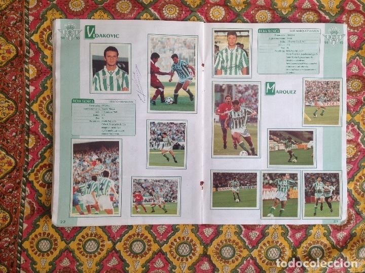 Álbum de fútbol completo: ALBUM BETIS COMPLETO FIRMADO POR JUGADORES - Foto 12 - 182945462