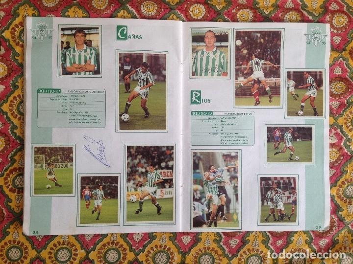 Álbum de fútbol completo: ALBUM BETIS COMPLETO FIRMADO POR JUGADORES - Foto 15 - 182945462