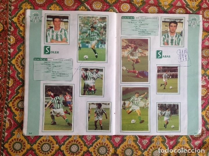 Álbum de fútbol completo: ALBUM BETIS COMPLETO FIRMADO POR JUGADORES - Foto 18 - 182945462