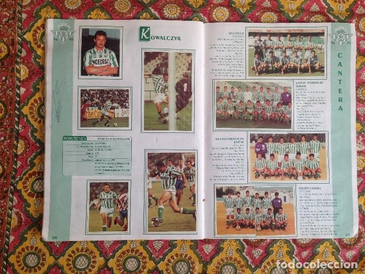 Álbum de fútbol completo: ALBUM BETIS COMPLETO FIRMADO POR JUGADORES - Foto 20 - 182945462