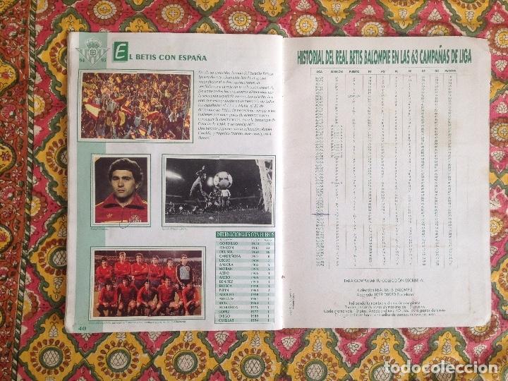 Álbum de fútbol completo: ALBUM BETIS COMPLETO FIRMADO POR JUGADORES - Foto 21 - 182945462