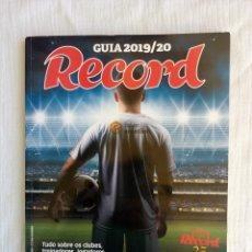 Álbum de fútbol completo: RECORD. - GUIA 2019/20 - #. Lote 173867052