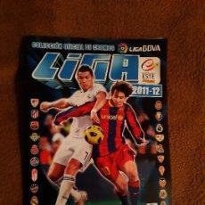 Álbum de fútbol completo: ALBUM DE FUTBOL EDICION ESTE PANNINI TEMP 2011-12 COMPLETO MUY BUEN ESTADO. Lote 182981482