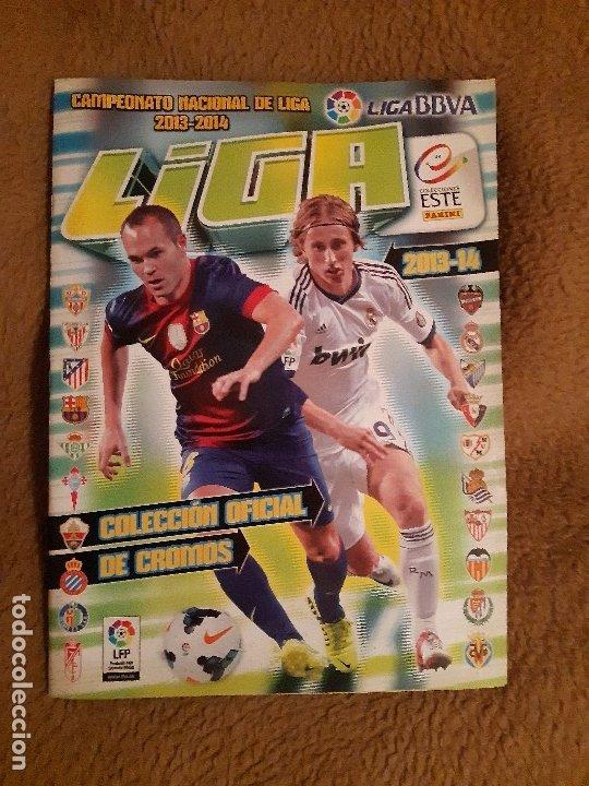 ALBUM DE FUTBOL EDICION ESTE PANNINI TEMP 2013-14 COMPLETO MUY BUEN ESTADO (Coleccionismo Deportivo - Álbumes y Cromos de Deportes - Álbumes de Fútbol Completos)