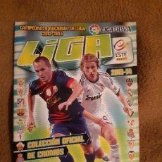 Álbum de fútbol completo: ALBUM DE FUTBOL EDICION ESTE PANNINI TEMP 2013-14 COMPLETO MUY BUEN ESTADO. Lote 182982513