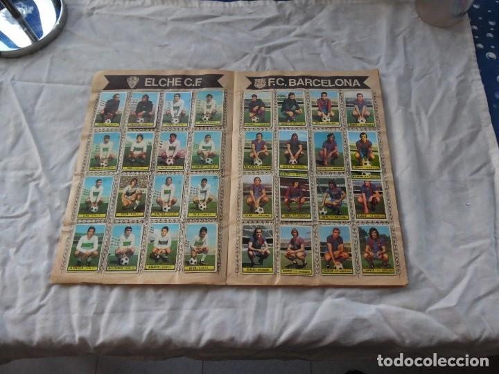 Álbum de fútbol completo: ALBUM DE FUTBOL EDICION ESTE TEMP 1974-75 COMPLETO CON SEÑALES DE USO - Foto 2 - 182987807