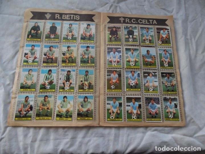 Álbum de fútbol completo: ALBUM DE FUTBOL EDICION ESTE TEMP 1974-75 COMPLETO CON SEÑALES DE USO - Foto 3 - 182987807