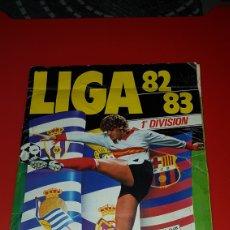 Álbum de fútbol completo: ALBUM LIGA 82-83 ESTE. Lote 183339291