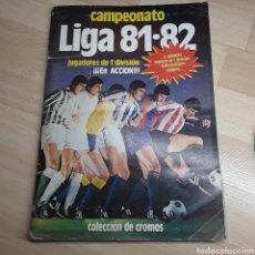 Álbum de fútbol completo: ALBUM LIGA ESTE 81/82 COMPLETO..367 CROMOS..MUCHOS COLOCAS.... Lote 183531052