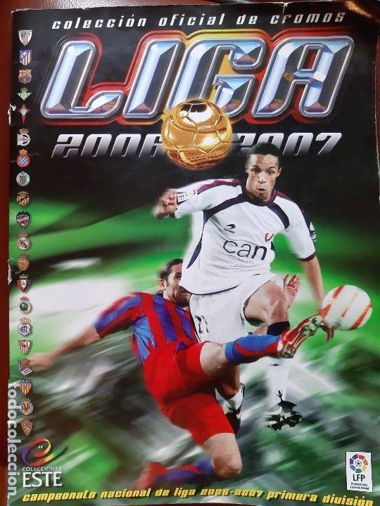 LIGA FÚTBOL PRIMERA DIVISION 2006/07 COMPLETO. EDICIONES ESTE (Coleccionismo Deportivo - Álbumes y Cromos de Deportes - Álbumes de Fútbol Completos)