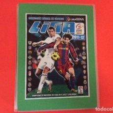 Álbum de fútbol completo: LIGA ESTE COLECCIÓN COMPLETA - 2011-2012 - EN CLASIFICADOR NUEVO Y CON LOS ERRORES LEER DETALLES. Lote 183696732