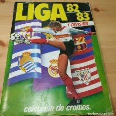 Álbum de fútbol completo: ALBUM DE CROMOS DE FUTBOL , ESTE , LIGA 82 83 CON TODAS LAS CASILLAS RELLENAS. Lote 183697777