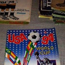 Álbum de fútbol completo: ALBUM CROMOS COMPLETO MUNDIAL USA '94 PANINI. Lote 183707096
