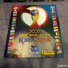 Álbum de fútbol completo: ALBUM COMPLETO DE CROMOS WORLD CUP KOREA JAPAN 2002 COMPLETO PANINI EXCELENTE ESTADO . Lote 183712660