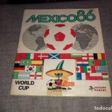 Álbum de fútbol completo: ALBUM COMPLETO DE CROMOS WORLD CUP MEXICO 86 PANINI BUEN ESTADO. Lote 183714828