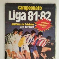 Álbum de fútbol completo: ALBUM COMPLETO 81 - 82 EDICIONES ESTE CON COLOCAS. Lote 183716187