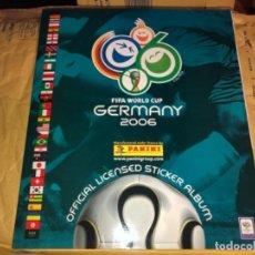 Álbum de fútbol completo: ALBUM COMPLETO DE CROMOS WORLD CUP GERMANY 2006 PANINI EXCELENTE ESTADO. Lote 183731065