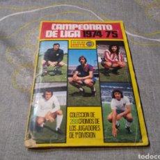 Álbum de fútbol completo: ALBUM ED. ESTE 1974-75 ( TODOS LOS.CROMOS.EDITADOS) MARINHO, ASLUND, CAMACHO. Lote 183758702