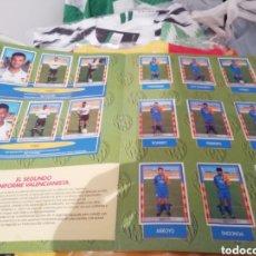 Álbum de fútbol completo: ALBUM HISTORIA EN CROMOS . ÁLBUM COMPLETO VALENCIA CF.. Lote 183808550