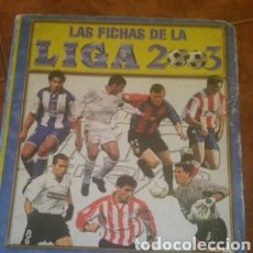 Álbum de fútbol completo: ÁLBUM CROMOS DE LIGA NACIONAL PRIMERA DIVISIÓN. 628 CROMOS. 70 HOJAS. TEMPORADA 2002/2003.. Lote 183809311